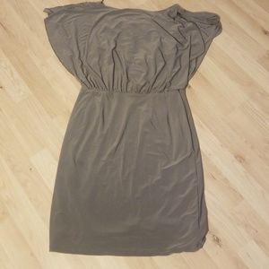Grey Jessica Simpson dress with small open back